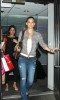 Bar Refaeli spotted arriving to New York City on April 28th 2009 to Promote the new Hurley Little Black Bikini 2