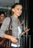 Bar Refaeli spotted arriving to New York City on April 28th 2009 to Promote the new Hurley Little Black Bikini 1