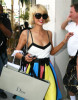 Paris Hilton and Nicky Hilton Shopping On Rodeo Dr in Beverly Hills 6