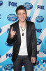 Kris Allen poses in the press room during the American Idol Season 8 Grand Finale held at Nokia Theatre L A  Live on May 20th, 2009 in Los Angeles, California