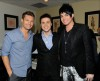 desktop wallpaper photo of Adam Lambert, Kris Allen, and Ryan Seacrest backstage of American Idol season8 on May 19th 2009
