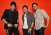 Photo shoots of Adam Lambert with Danny Gokey and Kris Allen, the three top contestants of American Idol season 8