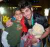 Yahia Sweis arrives at Amman Airport in Jordan after he leaves star academy season 6