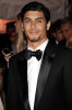 Jesus Luz wearing a black formal suit at the gala ball in the Metropolitan Museum of Art in New York on may 5th 2009