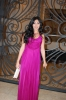 Mirhan Hussein at her birthday party wearing a stunning purple dress