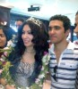 Mirhan Hussein photos with her fans 12