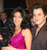 Mirhan Hussein at her birthday party with Nader Kirat from Tunis