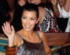 kim kardashian hosts in The Pool At Harrahs Resort on the 23rd of May 2009 5