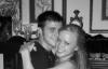 Kris Allen with his wife