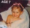 Baby picture of Megan Joy