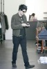 Adam Lambert spotted shopping for clothes at Barneys in New York City on May 14th 2009 7