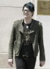 Adam Lambert spotted shopping for clothes at Barneys in New York City on May 14th 2009 11