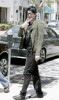 Adam Lambert spotted shopping for clothes at Barneys in New York City on May 14th 2009 8