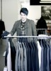 Adam Lambert spotted shopping for clothes at Barneys in New York City on May 14th 2009 5