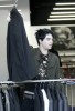 Adam Lambert spotted shopping for clothes at Barneys in New York City on May 14th 2009 3