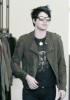 Adam Lambert spotted shopping for clothes at Barneys in New York City on May 14th 2009 2