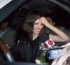 Lara Scandar arrives to Cairo Airport in Egypt after leaving star academy 3