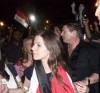 Lara Scandar arrives to Cairo Airport in Egypt after leaving star academy 1