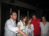 picture of Nazem Ezzeddine with Ines Lasswad Khawla Bin Imran and Zaher Zorgatti