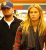 Bar Refaeli spotted with Leonardo DiCaprio at Barnes and Noble bookstore in Los Angeles on June 8th 2009 1