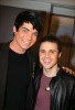 Adam Lambert with Kris Allen at the Today Show  on May 28th 2009 17