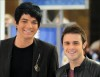 Adam Lambert with Kris Allen at the Today Show  on May 28th 2009 9