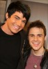 Adam Lambert with Kris Allen at the Today Show  on May 28th 2009 20