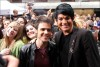 Adam Lambert with Kris Allen at the Today Show  on May 28th 2009 11