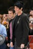 Adam Lambert with Kris Allen at the Today Show  on May 28th 2009 4