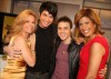 Adam Lambert with Kris Allen at the Today Show  on May 28th 2009 15