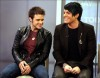 Adam Lambert with Kris Allen at the Today Show  on May 28th 2009 19