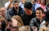 Adam Lambert with Kris Allen at the Today Show  on May 28th 2009 5