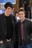 Adam Lambert with Kris Allen at the Today Show  on May 28th 2009 1