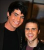 Adam Lambert with Kris Allen at the Today Show  on May 28th 2009 18