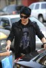 Adam Lambert spotted Out in LA on June 1st 2009 2