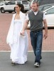Guy Ritchie seen with a woman on Malibu beach 1