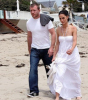 Guy Ritchie seen with a woman on Malibu beach 7