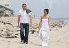 Guy Ritchie seen with a woman on Malibu beach 5
