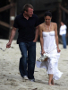 Guy Ritchie seen with a woman on Malibu beach 4