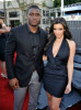 Kim Kardashian and Reggie Bush at the Premiere of Transformers Revenge Of The Fallen 2009 Movie held at Mann Village Theatre on June 22nd 2009 in Los Angeles California