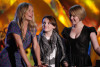 Cameron Diaz with Abigail Breslin and Sofia Vassilieva on stage during the 18th Annual MTV Movie Awards on May 31st 2009 3