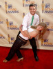 Shawn Johnson and Mark Ballas at the 18th Annual MTV Movie Awards on May 31st 2009