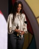Tyra Banks on stage on the 2009 BET Awards held at the Shrine Auditorium on June 28th in Los Angeles 4