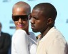 Kanye West and his girlfriend Amber Rose arrive on the the red carpet at the 2009 BET Awards held at the Shrine Auditorium on June 28th in Los Angeles 5