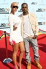 Kanye West and his girlfriend Amber Rose arrive on the the red carpet at the 2009 BET Awards held at the Shrine Auditorium on June 28th in Los Angeles 1