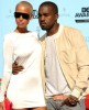 Kanye West and his girlfriend Amber Rose arrive on the the red carpet at the 2009 BET Awards held at the Shrine Auditorium on June 28th in Los Angeles 2