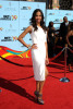 Zoe Saldana arrives at the 2009 BET Awards held at the Shrine Auditorium on June 28th 2009 in Los Angeles 1