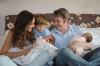Sarah Jessica parker with her husband and son James Wilkie and twins Marion Loretta Elwell and Tabitha Hodge