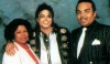 Katherine Jackson with her husband and son Michael Jackson