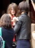 Suri Cruise with her mom in Los Angeles  on June 15th 2009 2